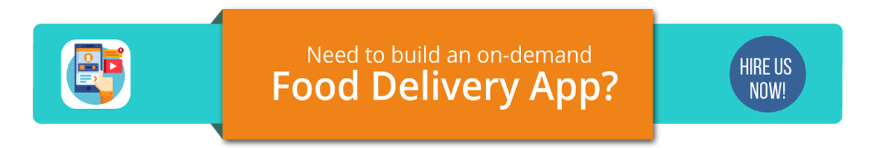 Hire food delivery app developer