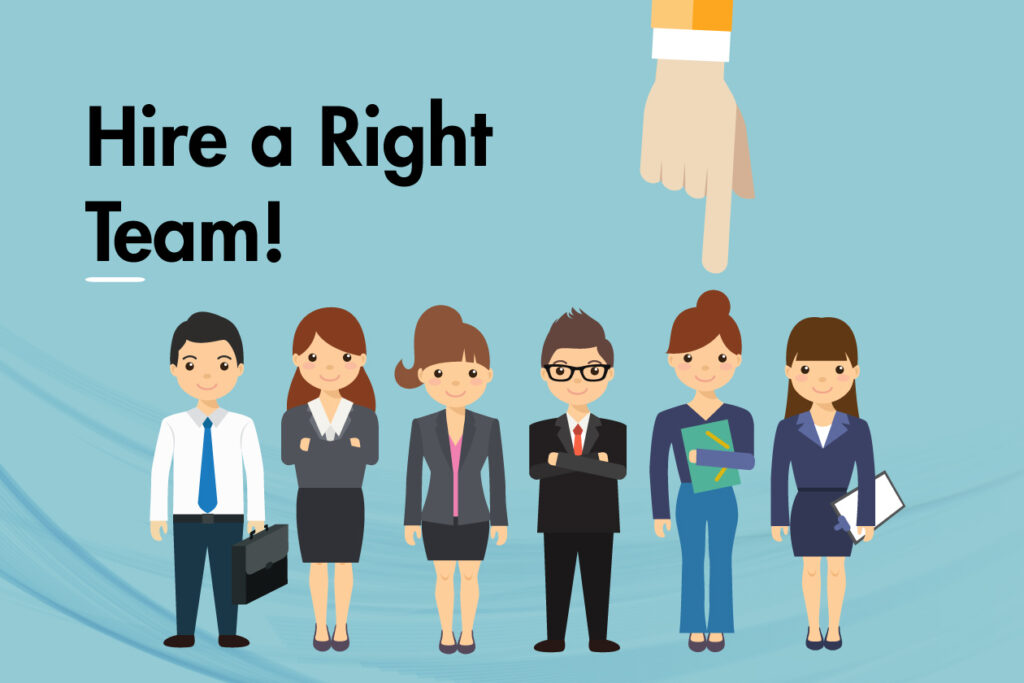hire a team of experts