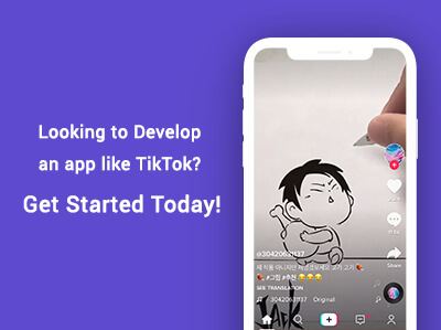 Looking to Develop an app like TikTok?