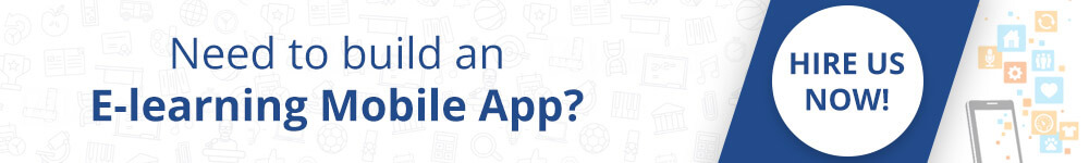 Need to build a e-learning mobile app