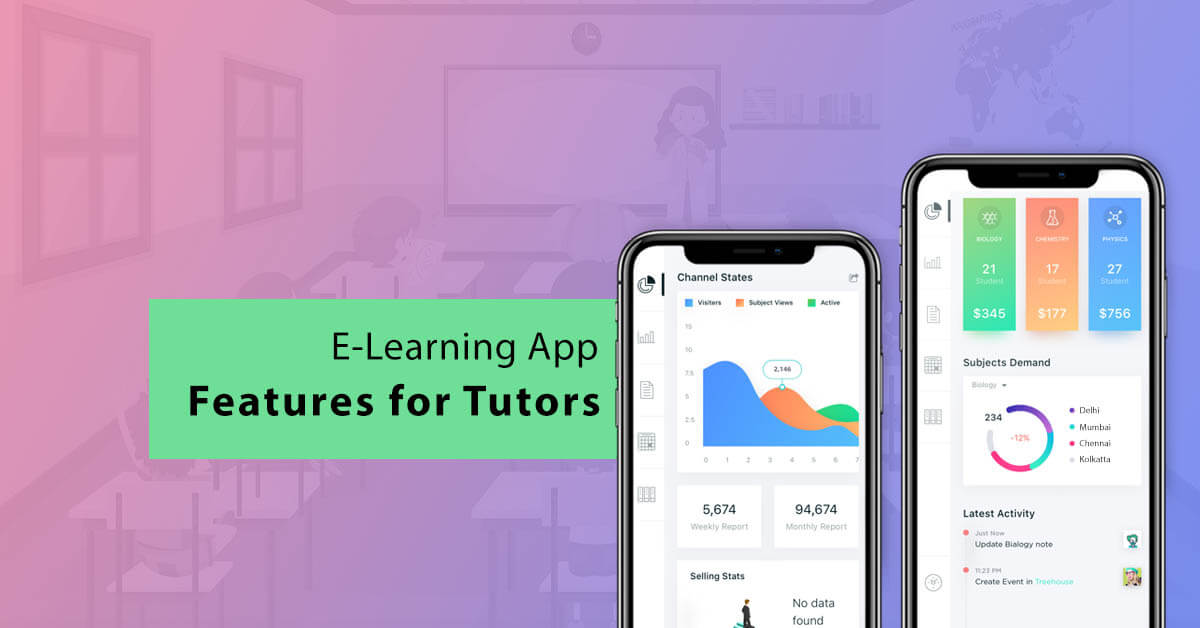 tutor app screen