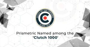 Prismetric named among 'Clutch 1000' top IT Service Providers across the Globe