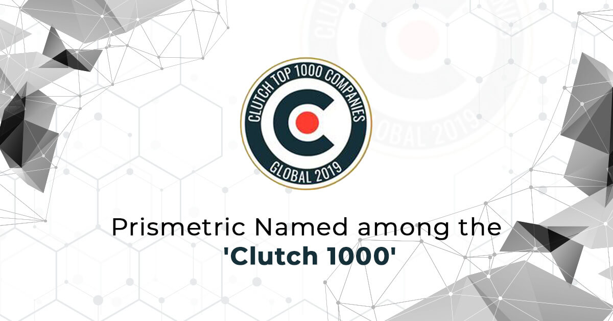 Prismetric Named among the 'Clutch 1000'