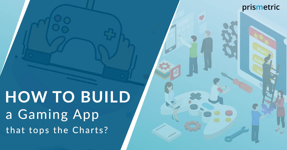a step by step guide to build a successful gaming app - Logo