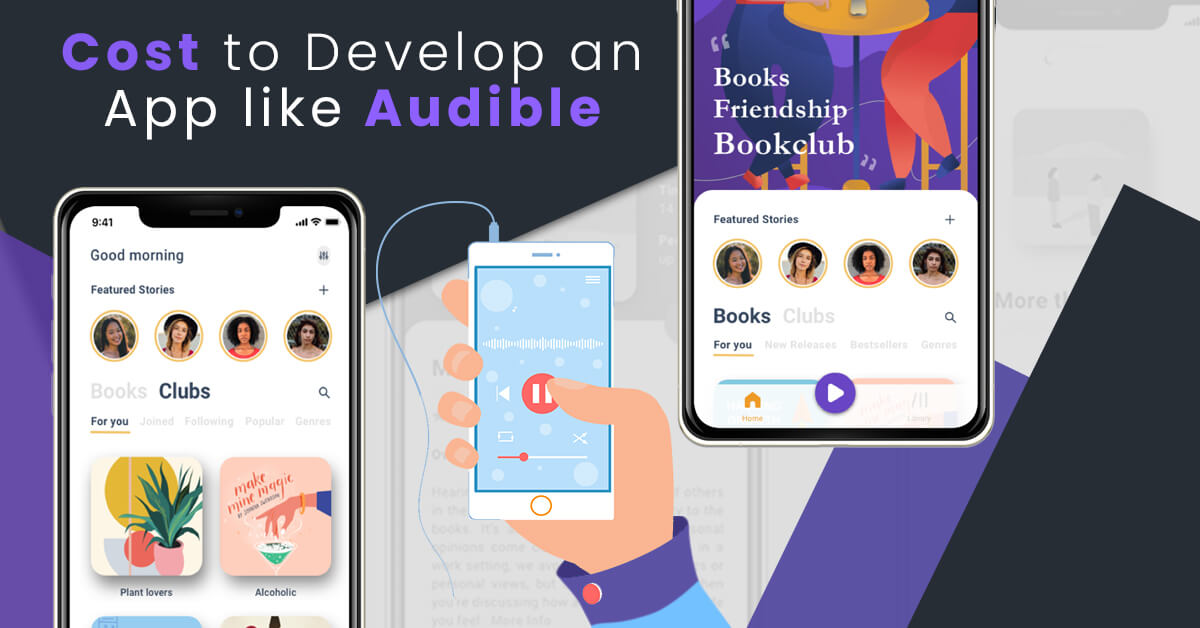 Cost to Develop an App like Audible