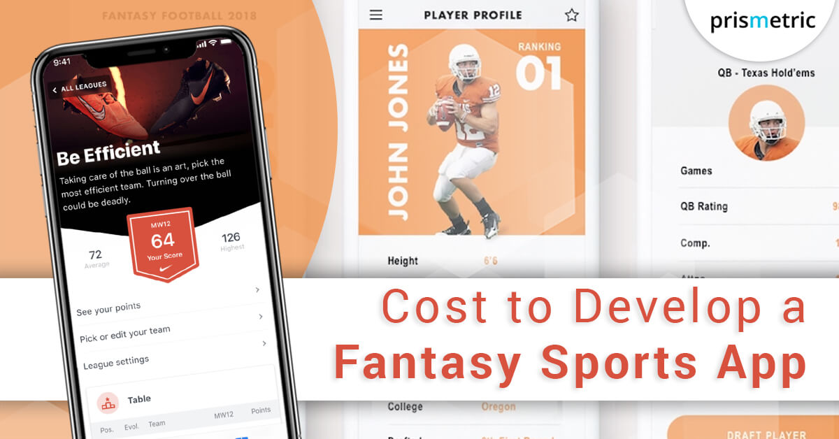 Cost to develop a Sports Fantasy App