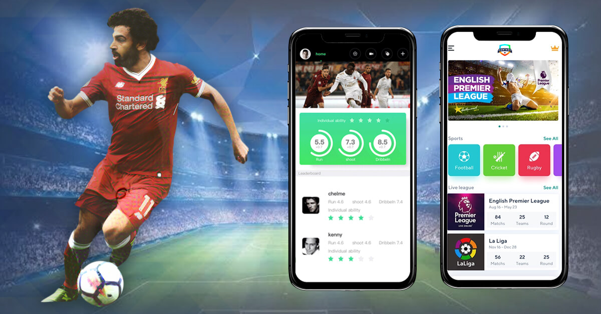 Innovative Features for a Fantasy Sports App with 2 different screens