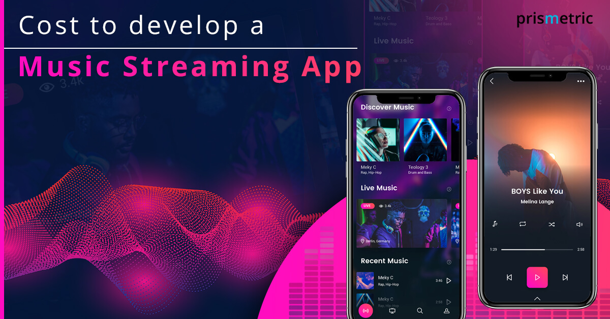 Cost to develop a Music Streaming App