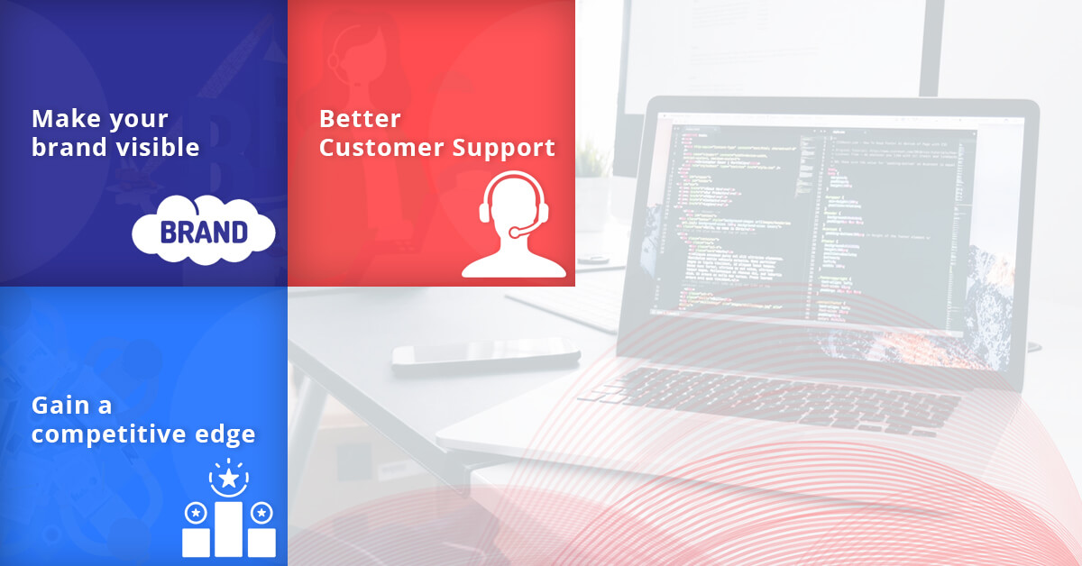 Benefits of developing a web application