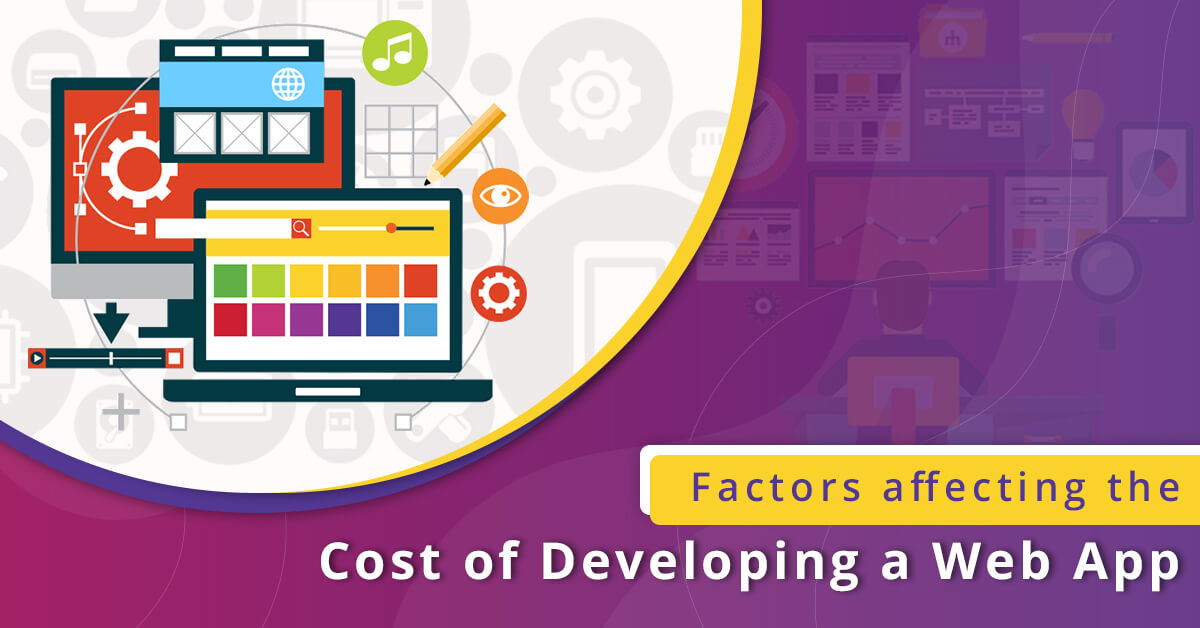 Factors affecting the cost of developing a web app