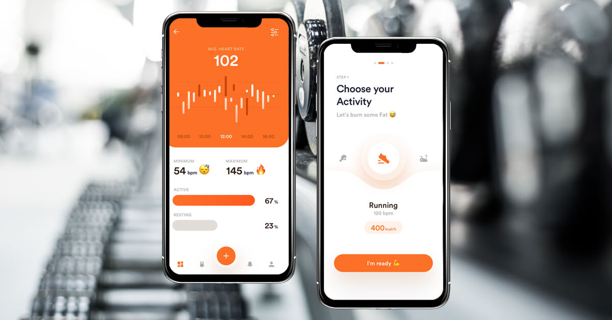Advanced features of fitness app