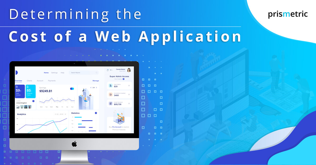 Determining the Cost of a Web Application