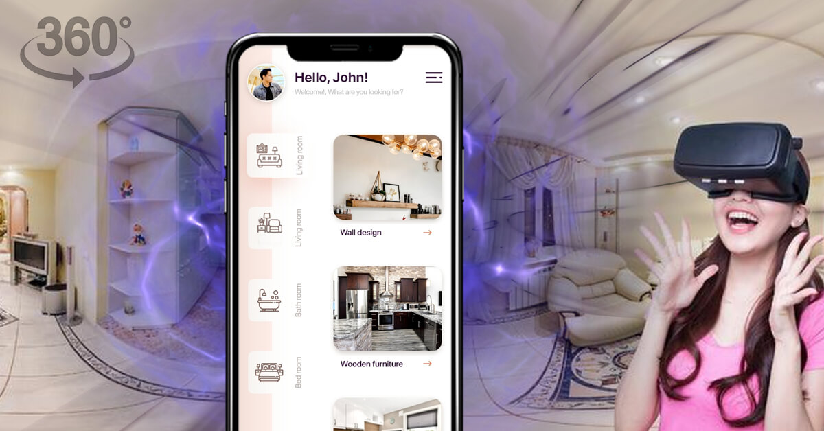 Virtual Interior designer app