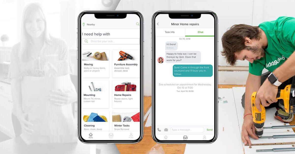 basic features of TaskRabbit