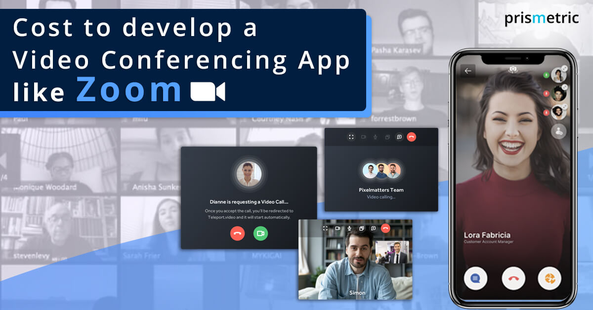 Cost to develop a Video Conferencing App like Zoom - PM logo
