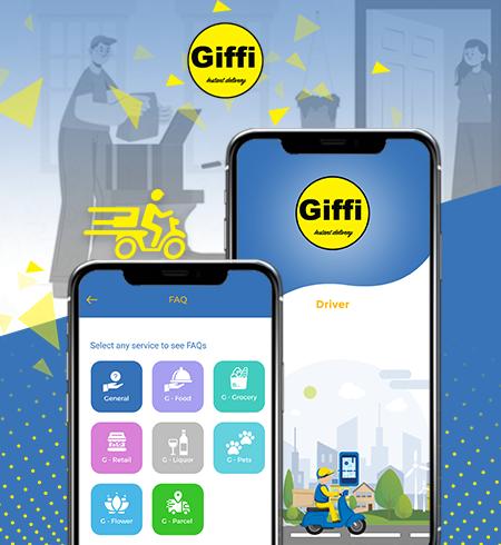Case Study on Mobile app Giffi - Prismetric