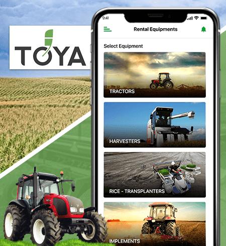 Case Study on mobile app : Toya - Prismetric