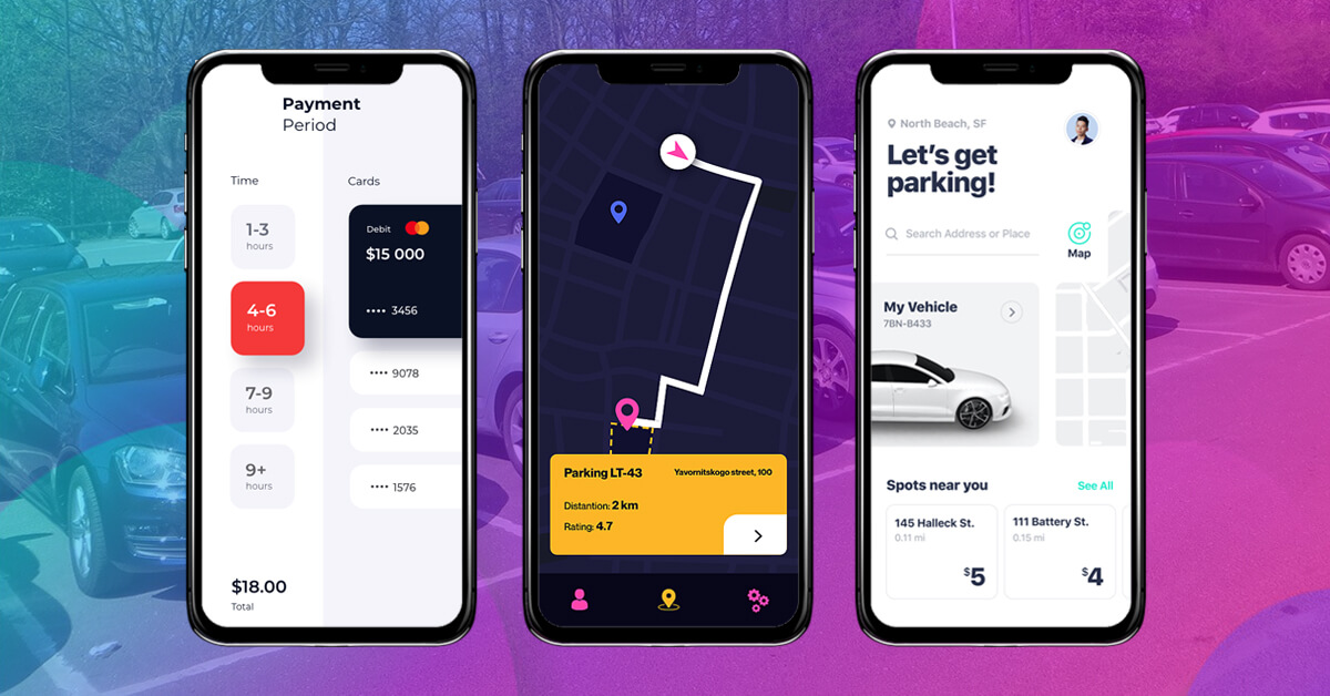 Car Parking Finder App Features