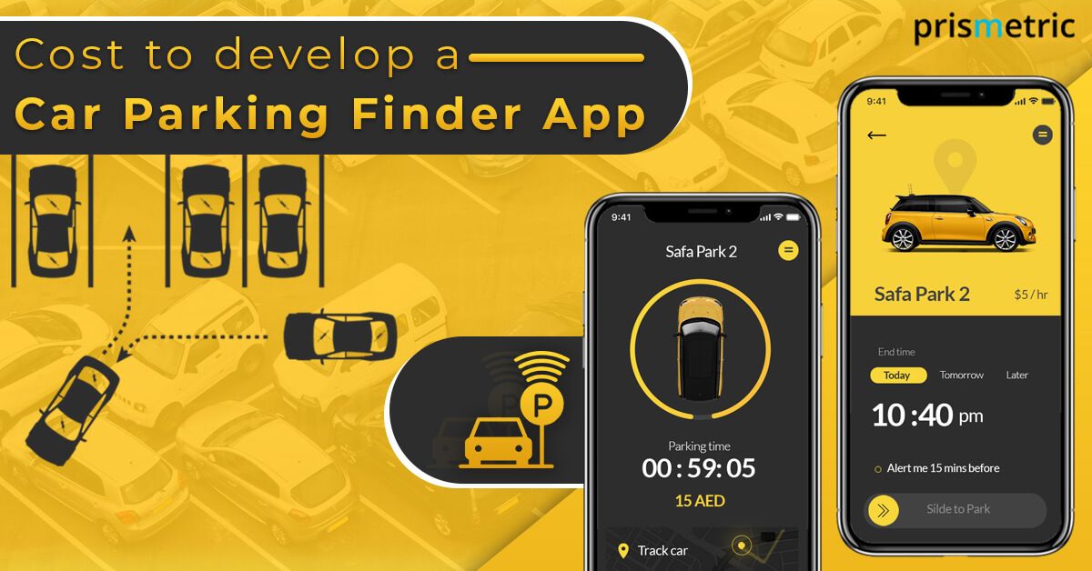 Cost to develop a Car Parking Finder App