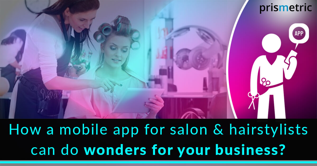 mobile app for salon and hairstylists business