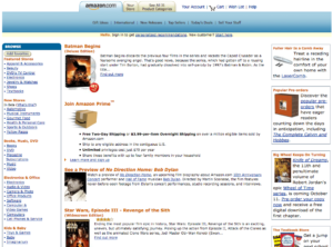 Amazon 2006-2010 - 2005