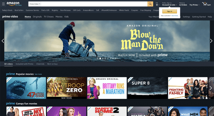 Amazon 2015-2020 - 2