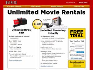 Netflix 1997-2000