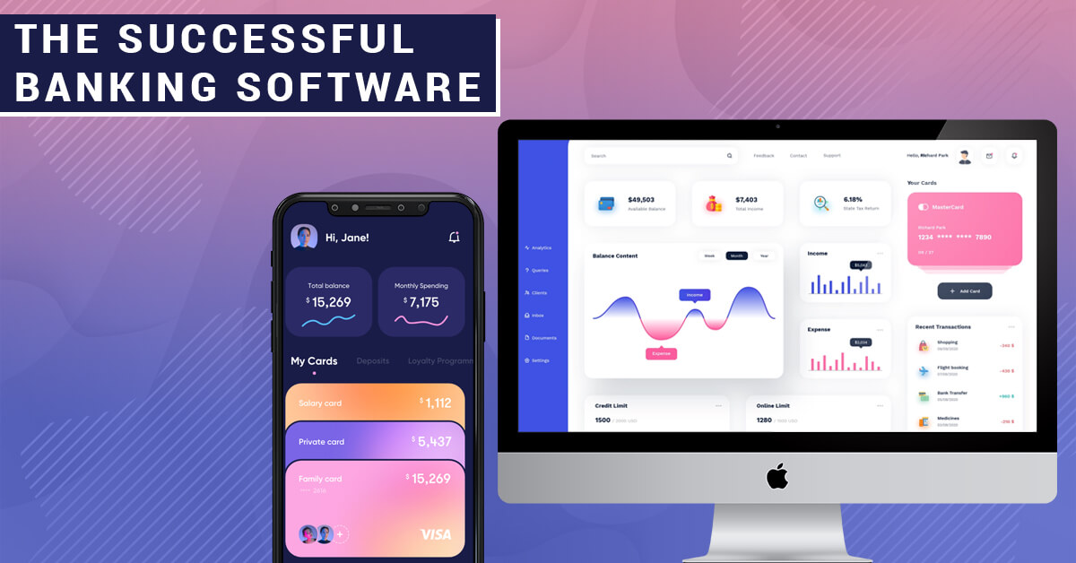 The successful banking software