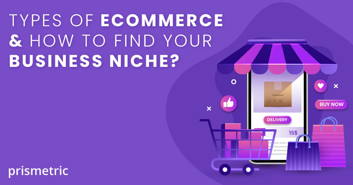 Different Types of eCommerce business models and how to find your business niche