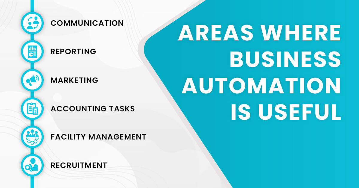 Areas where business automation will be essential