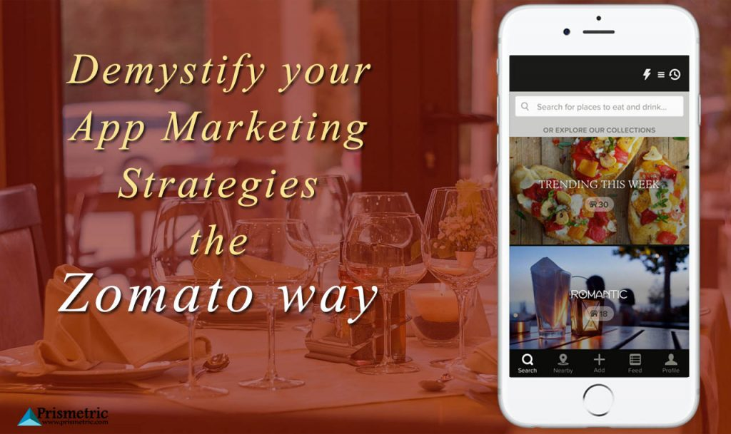 app marketing strategies like Zomato way