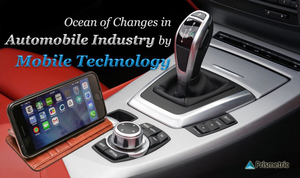 Mobile technology, automobile industry, Mobile apps