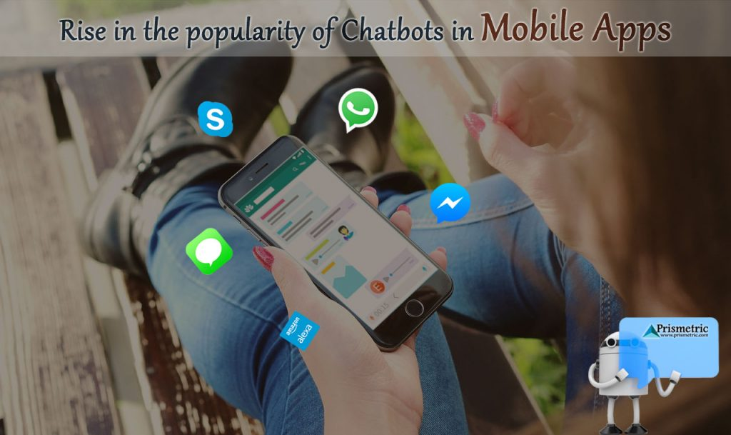 Chatbots in mobile apps