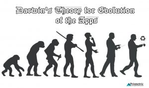Darwin's Theory for Evolution of the Apps