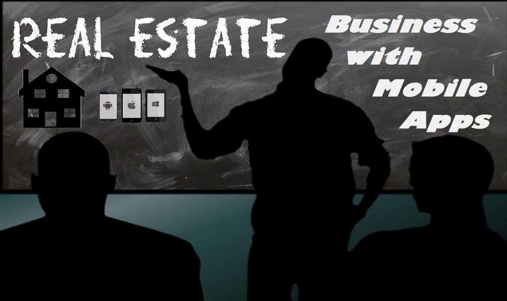 Real Estate Business with mobile apps