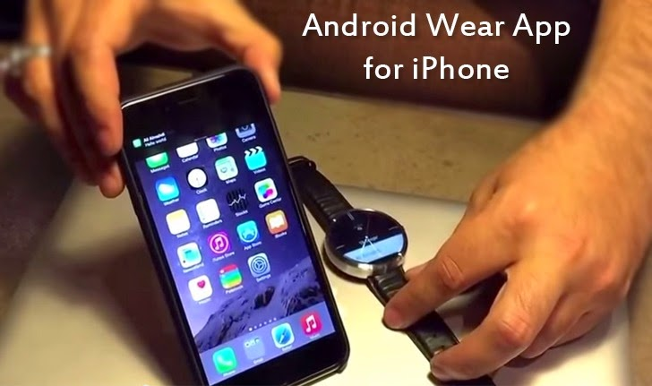 android wear and iphone
