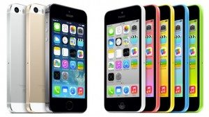 iPhone launches iPhone 5S and 5C