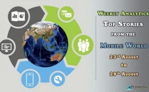 Weekly Analytics: Top Stories from the Mobile World (Aug 23 – Aug29)